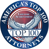 America's Top 100 Attorneys Lifetime Achievement for Charles Feldmann